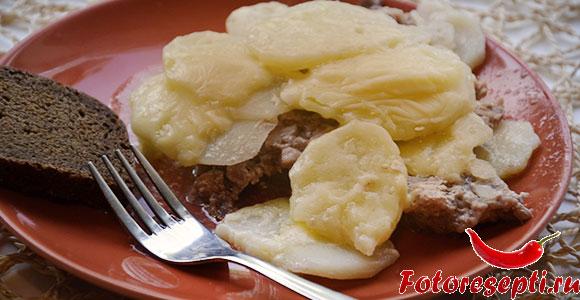 запеченный картофель