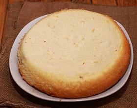 Бисквит простой без миксера