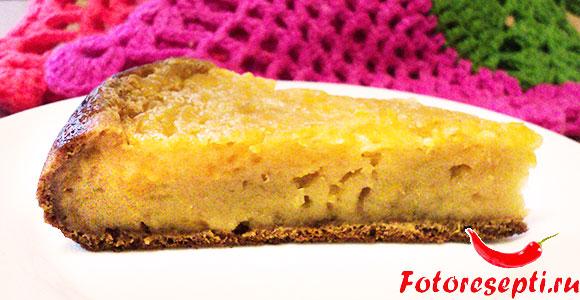 тыквенный пирог в мультиварке, фото