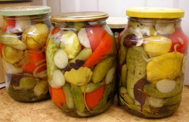 Фото рецепты консервации салатов из патиссонов