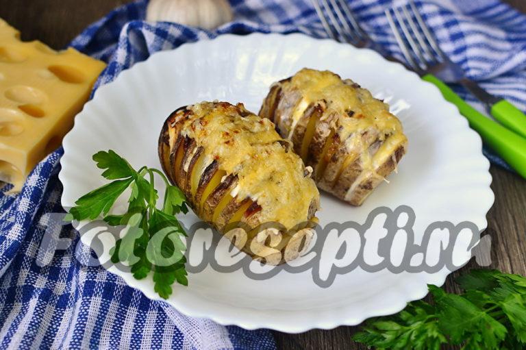 Картофель гармошка в духовке рецепт с фото