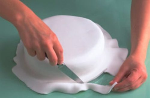 Мастика желатиновая для обтяжки тортов