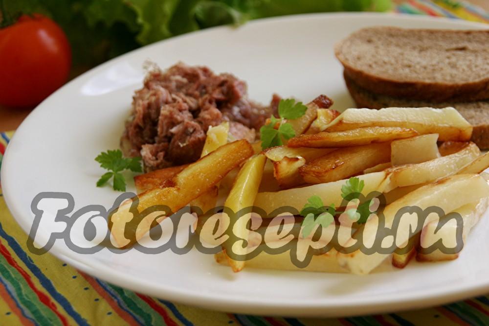 Как пожарить картошку на сковороде с хрустящей корочкой рецепт
