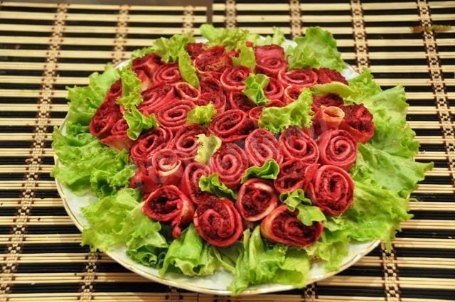 Салат розы для любимого рецепт с фото