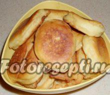Оладьи на сметане пышные: рецепт с фото
