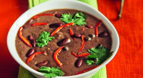 Фасолевый суп по-мексикански