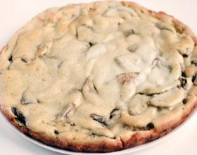 грибной пирог готов