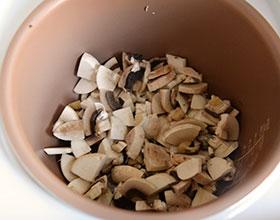 грибы в мультиварке