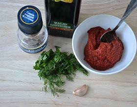 ингредиенты для домашнего кетчупа