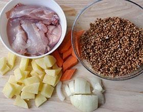 ингредиенты для куриного супа