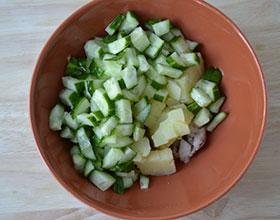 делаем салат из селедки