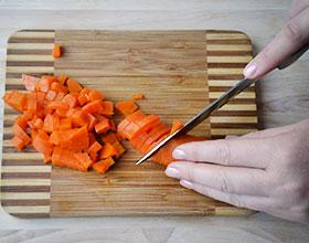 морковь для салата оливье
