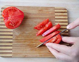 помидоры для салата из языка