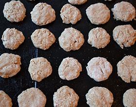 выпекаем печенье из овсяных хлопьев