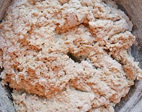 тесто для овсяных печеньев