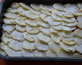 картошка в сметане и масле