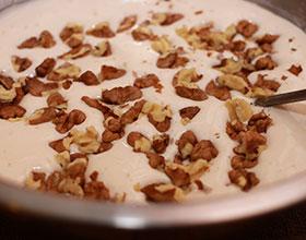 орехи в тесте