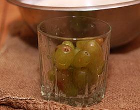 виноград для бисквита