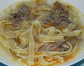 суп-лапша с курицей, фото