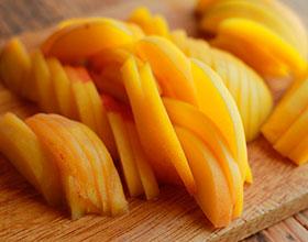 персики для пириога