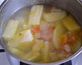 овощи варим для супа