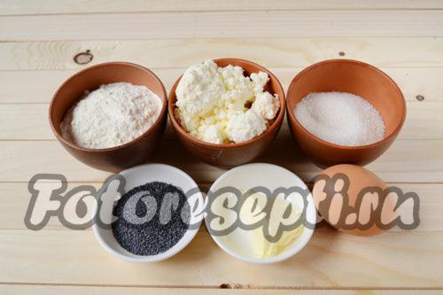 ингредиенты для ленивых вареников