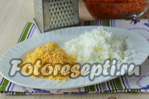 подготовить отдельно желтки и белки