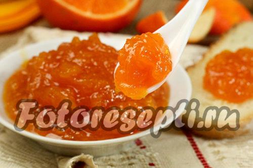 Варенье из тыквы с апельсином и лимоном, рецепт