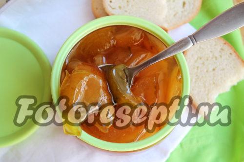 Варенье из груш дольками, янтарное: простой рецепт