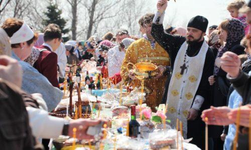 Во сколько святят куличи в церкви