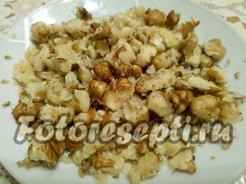 подготовить орехи
