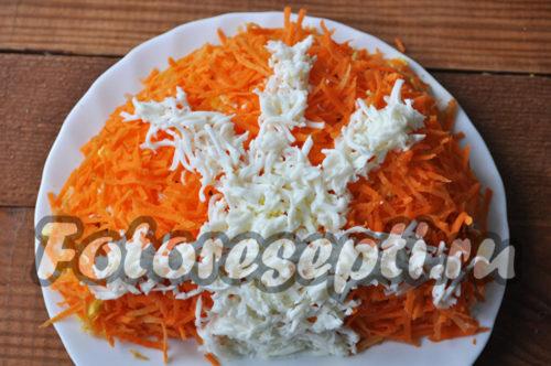 украсить салат белками