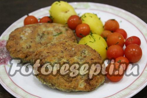 Котлеты из чечевицы со вкусом мяса