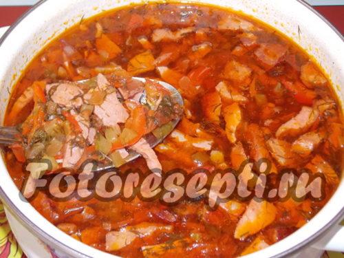 Сваренному супу дать настоятся