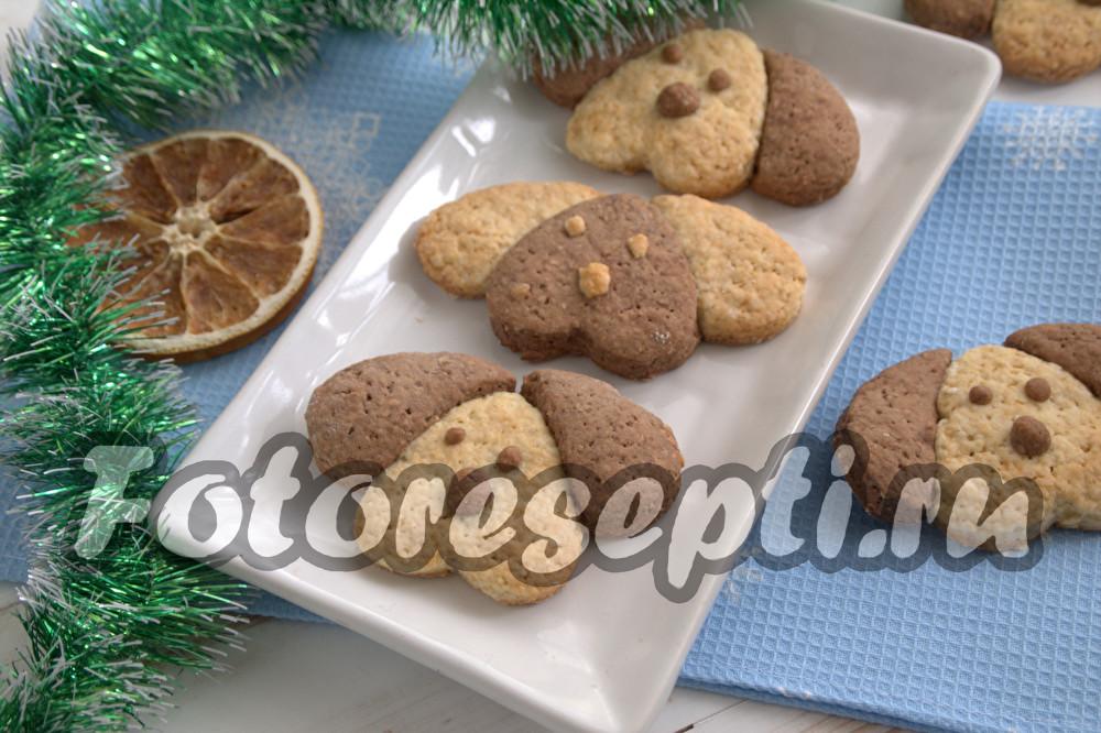 печенье в виде собачки