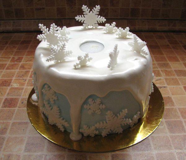 Снежный торт