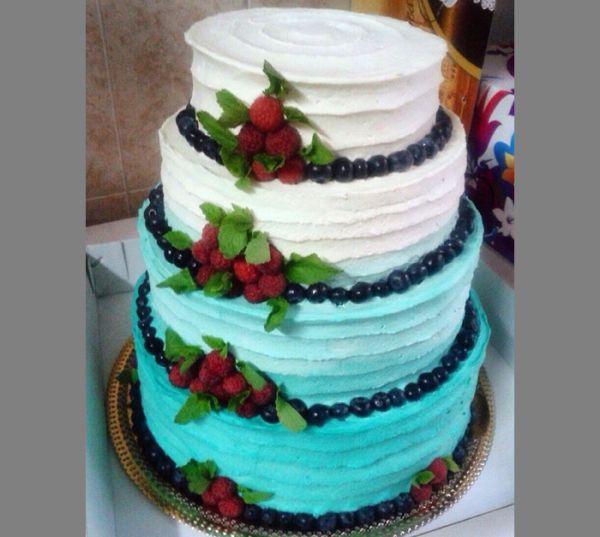Градиентный торт
