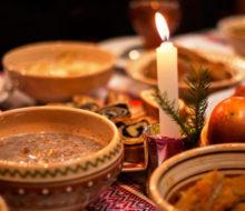 Постные блюда на рождественский пост