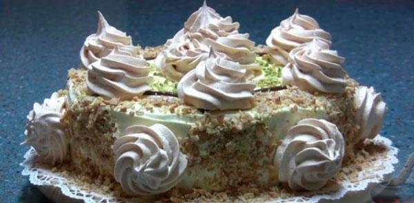 Ореховый торт Избушка