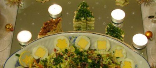 Салат «Рождественская соломка»