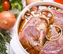 Маринады для шашлыка из свинины
